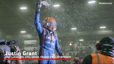 Justin Grant Back To Victory Lane On Friday At The Lucas Oil Chili Bowl