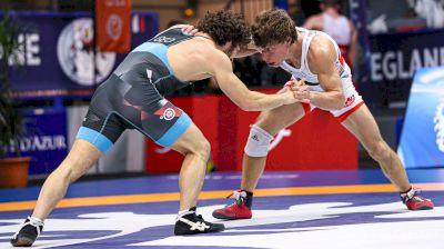 57 kg Semifinal - Nick Suriano, USA vs Beka Bujiashvili, Georgia