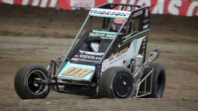 Tanner Thorson Battles Adversity All Week To Podium At Lucas Oil Chili Bowl