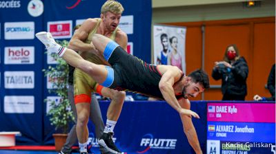 74 kg: Kyle Dake, USA vs Jonathan Alvarez, Spain