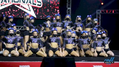Watch Highlights From Maryland Twisters F5 At JAMfest Cheer Super Nationals