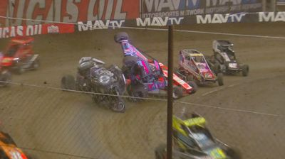 Thrills & Spills Saturday Night At The Lucas Oil Chili Bowl Nationals