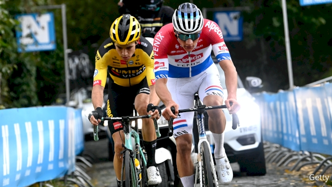 picture of Mathieu van der Poel And Wout van Aert, The Golden Age of Cycling's Greatest Rivalry