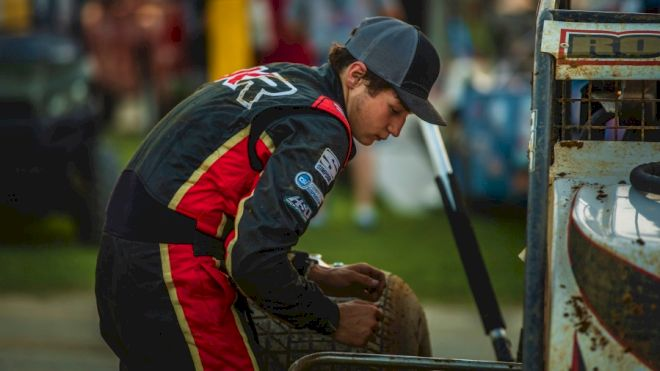 Top USAC Sprint Rookie Rogers Looks for Gains in 2021