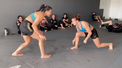 Ana Carolina Vieira and Luanna Alzuguir No-Gi Rolling