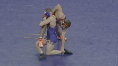 184 lbs - Parker Keckeisen, UNI vs Dakota Geer, Oklahoma State