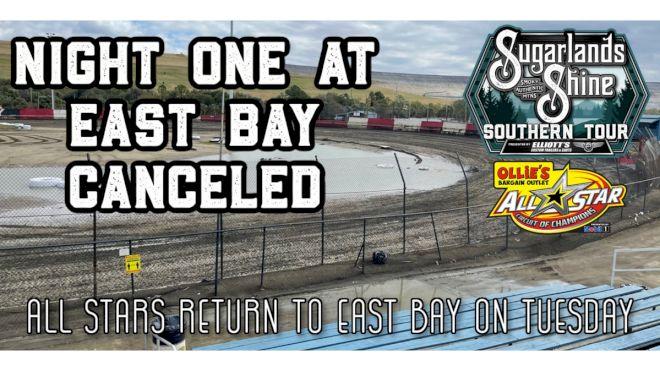 All Stars Cancel Monday At East Bay Raceway Park