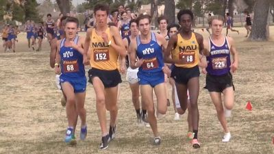 Men's 8k - NAU Freshman Nico Young Battles BYU's Conner Mantz To The Finish