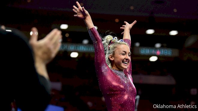 Oklahoma Gymnast Audrey Davis: Keeping It Fun & Competing For Family