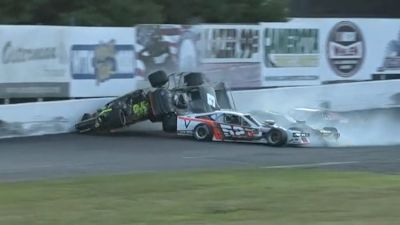 Top 10 Crashes at Stafford Motor Speedway in 2020