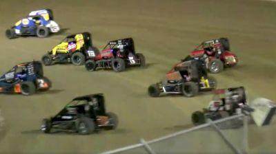 Heat Races | USAC Midgets Monday at Bubba Raceway Park