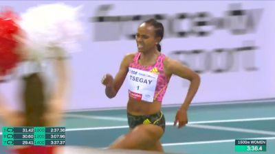 Gudaf Tsegay Smashes Indoor 1500m World Record
