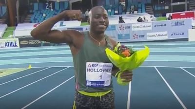 Grant Holloway 7.32, #2 All-Time In 60m Hurdles, New American Record!