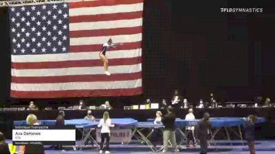 Ava DeHanes - Individual Trampoline, ETA - 2021 USA Gymnastics Championships