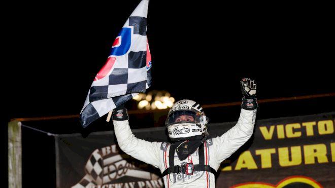 KTJ Ends USAC Sprint Drought At Ocala