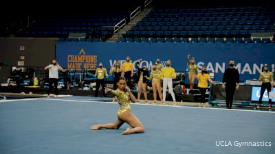 Margzetta Frazier Goes Viral With Janet Jackson Inspired Floor Routine