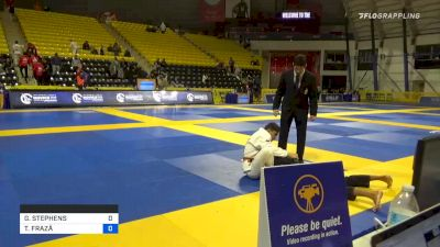 GAVVIN STEPHENS vs THIAGO FRAZÃ 2020 Pan Kids Jiu-Jitsu IBJJF Championship