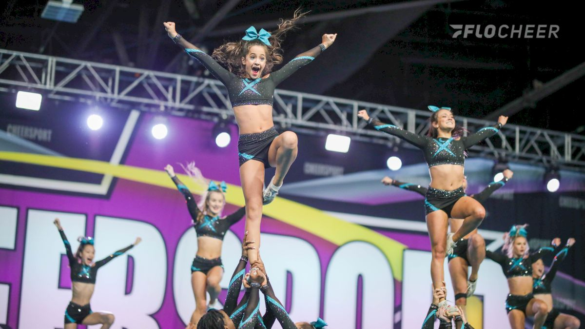 10 Photos From Cheer Extreme Senior Elite's Picture-Perfect Routine