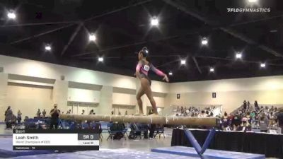 Leah Smith - Beam, World Champions #1055 - 2021 USA Gymnastics Development Program National Championships
