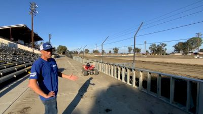 Peter Murphy Tours Improvements at Keller Auto Speedway