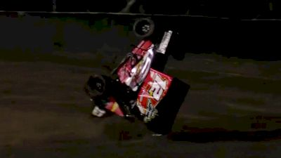 Brandon Emmett Flip | 305 Sprints at Keller Auto Speedway