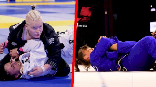 Lis Clay Set For First Black Belt Gi Match vs Maria Malyjasiak At F2W 165
