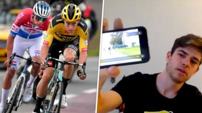 Pro Breakdown: Wout Van Aert's Tour Of Flanders Near Miss