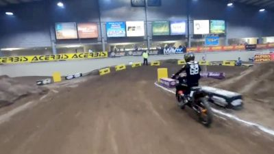 Jeff Crutcher GoPro Lap | Hoosier Arenacross