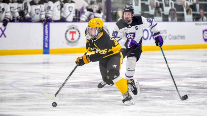 AIC, Army Lead Atlantic Hockey's Chase For The 2021 NCAA Tournament