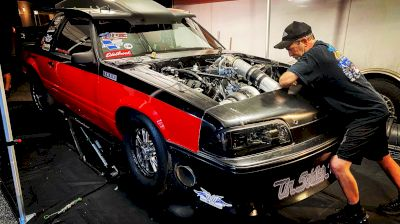 Ultra Street Contender Dave Fiscus Competes With Buick V6 At Lights Out 12