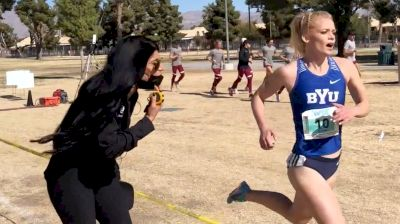 BYU Uncut | Coach Diljeet Taylor Mic'd Up At The 2020-21 WCC XC Championships
