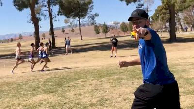 BYU Uncut | Coach Ed Eyestone Mic'd Up At The 2020-21 WCC XC Championships