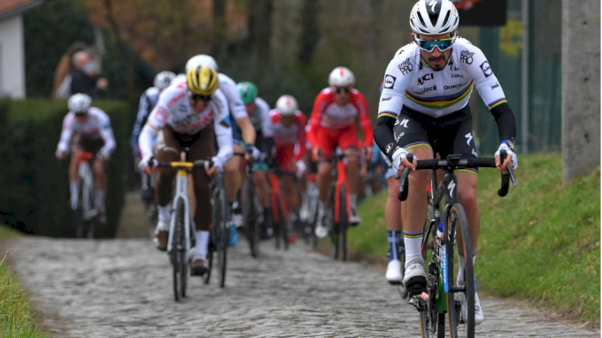 picture of Julian Alaphilippe Tour of Flanders 2021