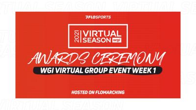 RESULTS: 2021 WGI Virtual Event Week 1 Awards Ceremony