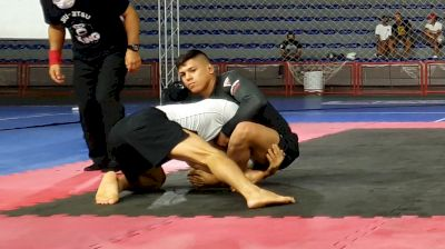 Brown Belt Micael Galvao Taps Black Belt in 55 Seconds