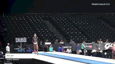 Myli Lew - Vault, San Mateo - 2021 GK US Classic & Hopes Championship
