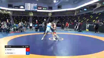 63 kg 3rd Place - Aidan Nutter, Wisconsin vs Jordan Hamdan, Michigan Wrestling CLub