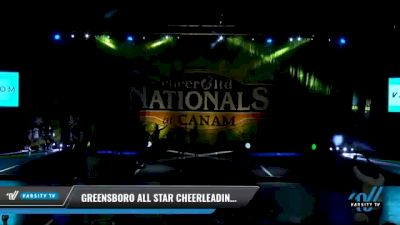 Greensboro All Star Cheerleading - White Diamonds [2021 L6 International Open - NT Day 1] 2021 Cheer Ltd Nationals at CANAM