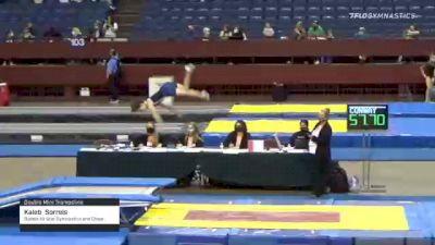 Kaleb  Sorrels  - Double Mini Trampoline, Basels All Star Gymnastics and Cheer  - 2021 Region 3 T&T Championships