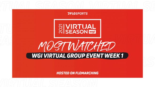 Top 10: Most Watched Shows In 2021 WGI Virtual Group Event 1