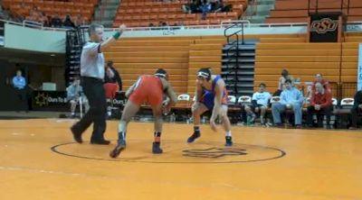 157 lbs match Josh Demas Ohio state vs. George Ivanov Boise State