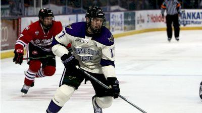Michael Huntebrinker Discusses College Hockey At Minnesota State