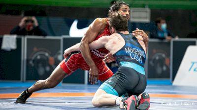 65 kg Joseph Christopher MCKENNA, USA vs Bajrang BAJRANG, IND