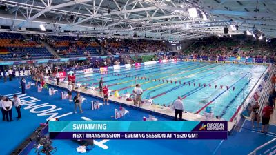 2018 European Swimming Championship Finals, Day 6