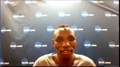 Wesley Kiptoo After Breaking NCAA Meet Record In The 5k 13:23