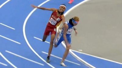 Major Contact In 14-Year-Old 800m National Championship Race