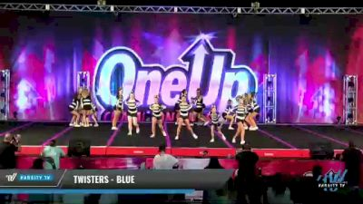 Twisters - Blue [2021 L2 Junior - Small Day 2] 2021 One Up National Championship