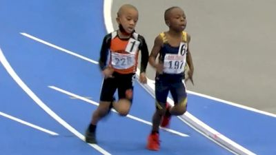 5-Year-Old Incredible 400m Photo Finish Sprint!
