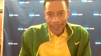 Oregon Head Coach Robert Johnson Wins The Men's Team Title