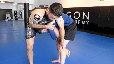 Vagner Rocha: How To Counter The Single Leg Takedown With The Kimura Trap